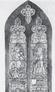 Memorial Window for Glyn Rhys-Williams