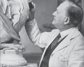 Bayes modelling the Dragon finial for the St Pancras Housing Association flats, 1937