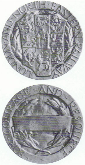 London and North Eastern Railway Medal for Bravery, Silver 1941