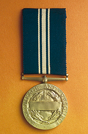 London and North East Railway medal for bravery, 1943